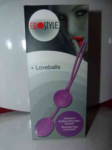 EROSTYLE Loveballs, rosa - exclusiv bei uns  Nr. 1-0507920